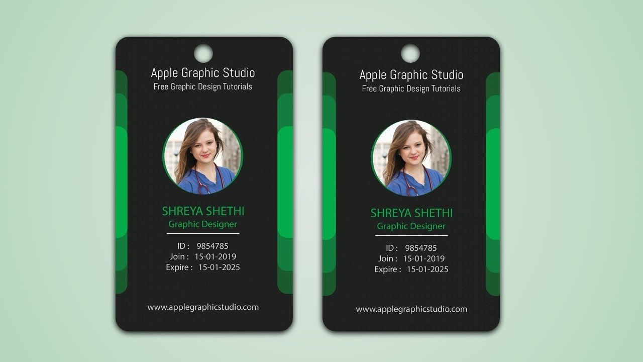 Make Your Own ID Badge Tutorial