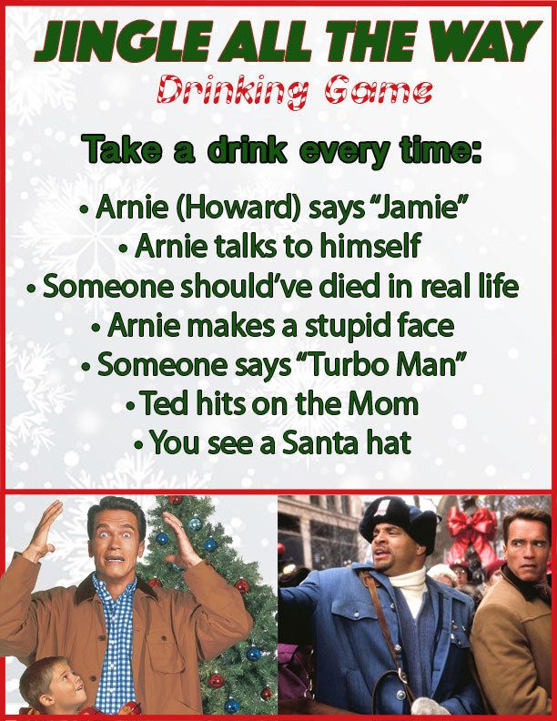 10 Christmas Movie Drinking Games You\'ll Want To Play This Year ...