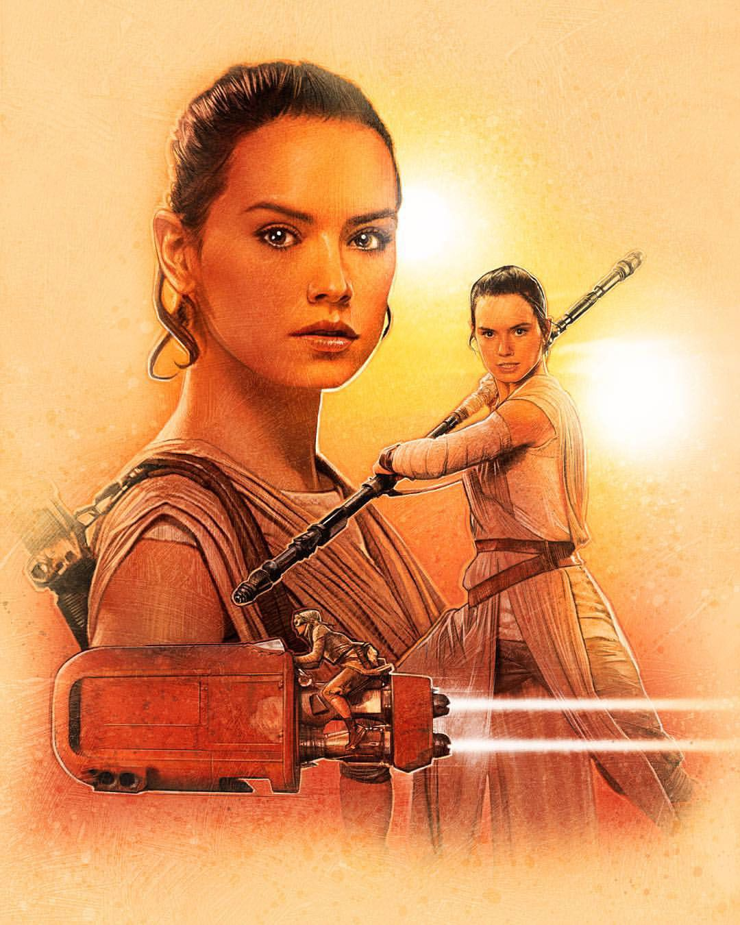 Star Wars: The Force Awakens Character Illustrations by Paul Shipper