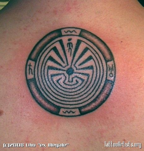 Man In The Maze Tattoo Design Google Search Tatoos Maze Tattoo