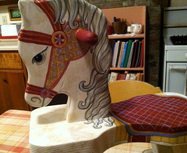 Painting A Rocking Horse Classroom Horses Kids Wood Painting