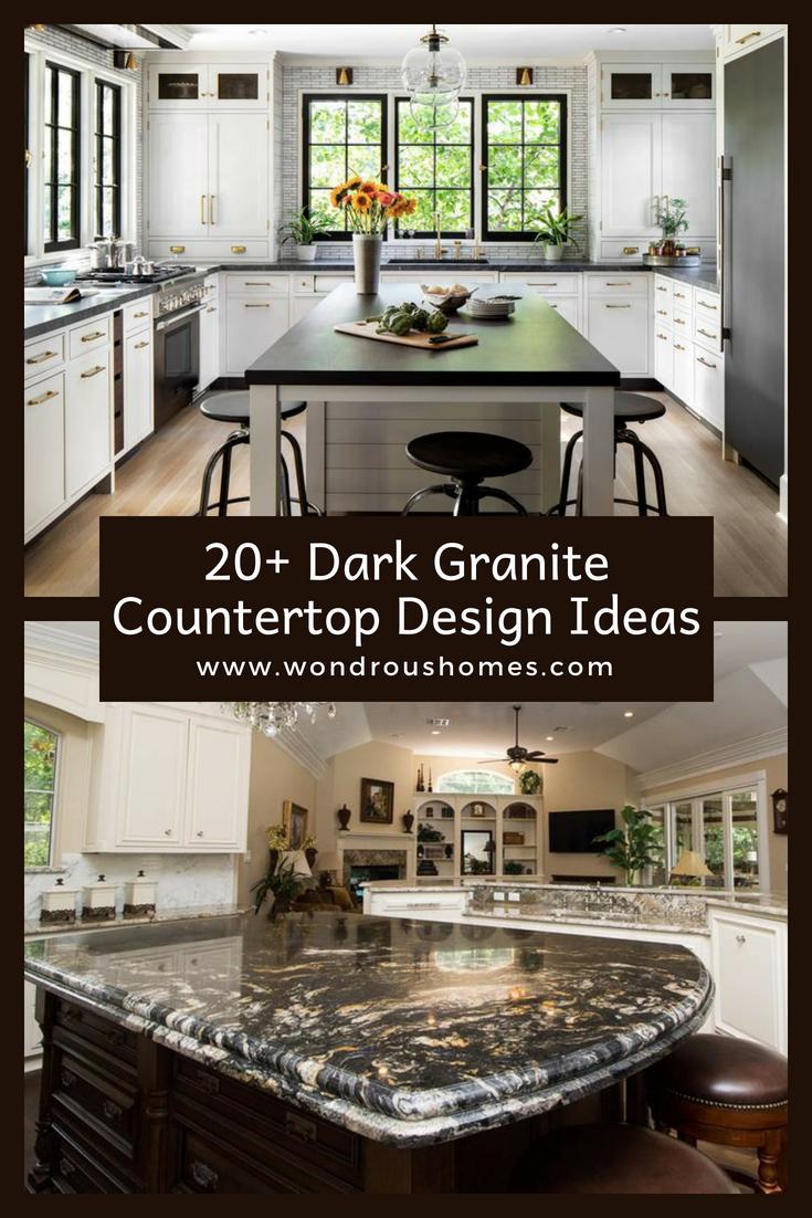 Discover 20 Dark Granite Countertop Ideas Granite Countertops