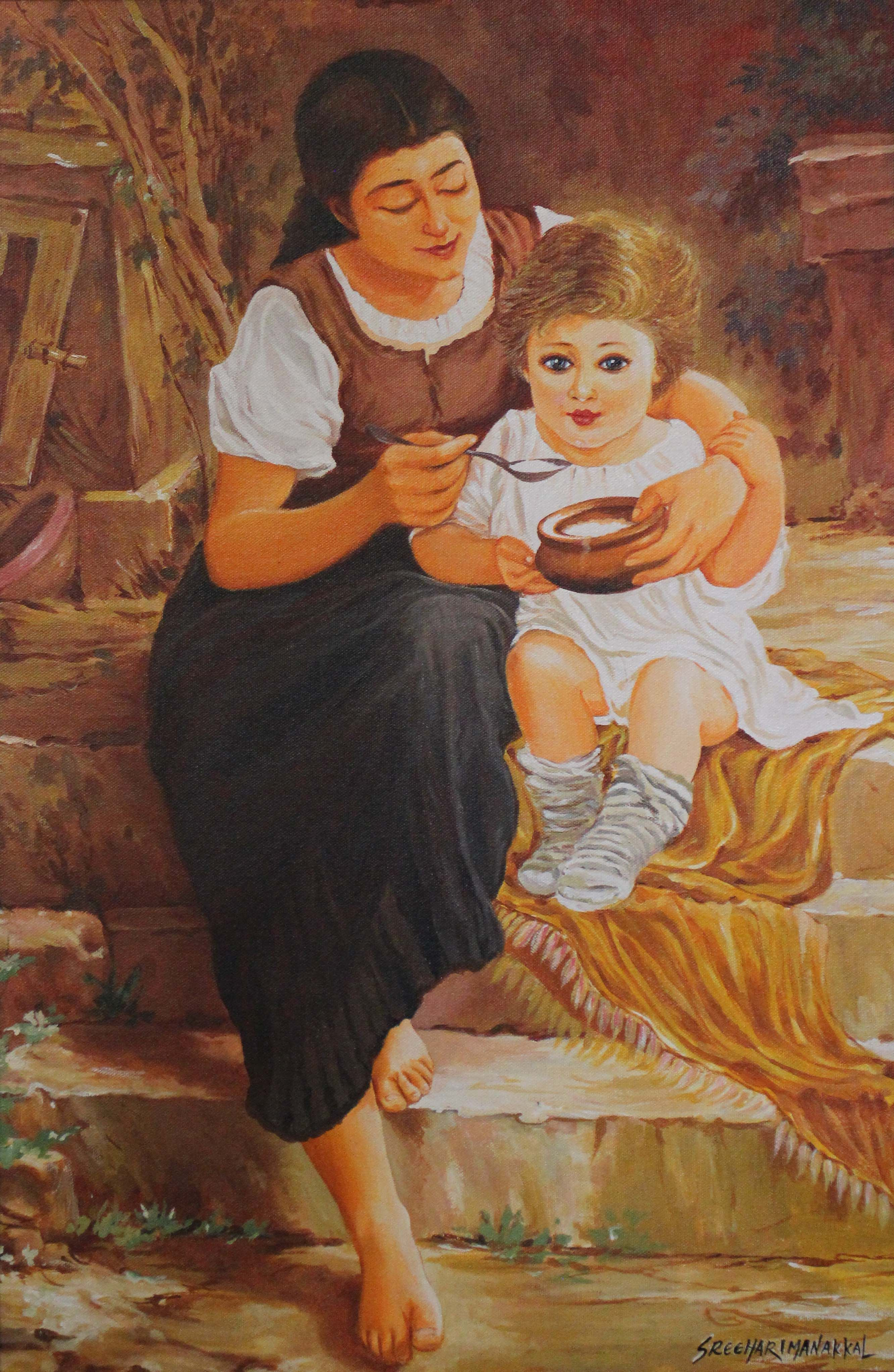 The Attachment Between Mother And Baby Is Very Unique ,