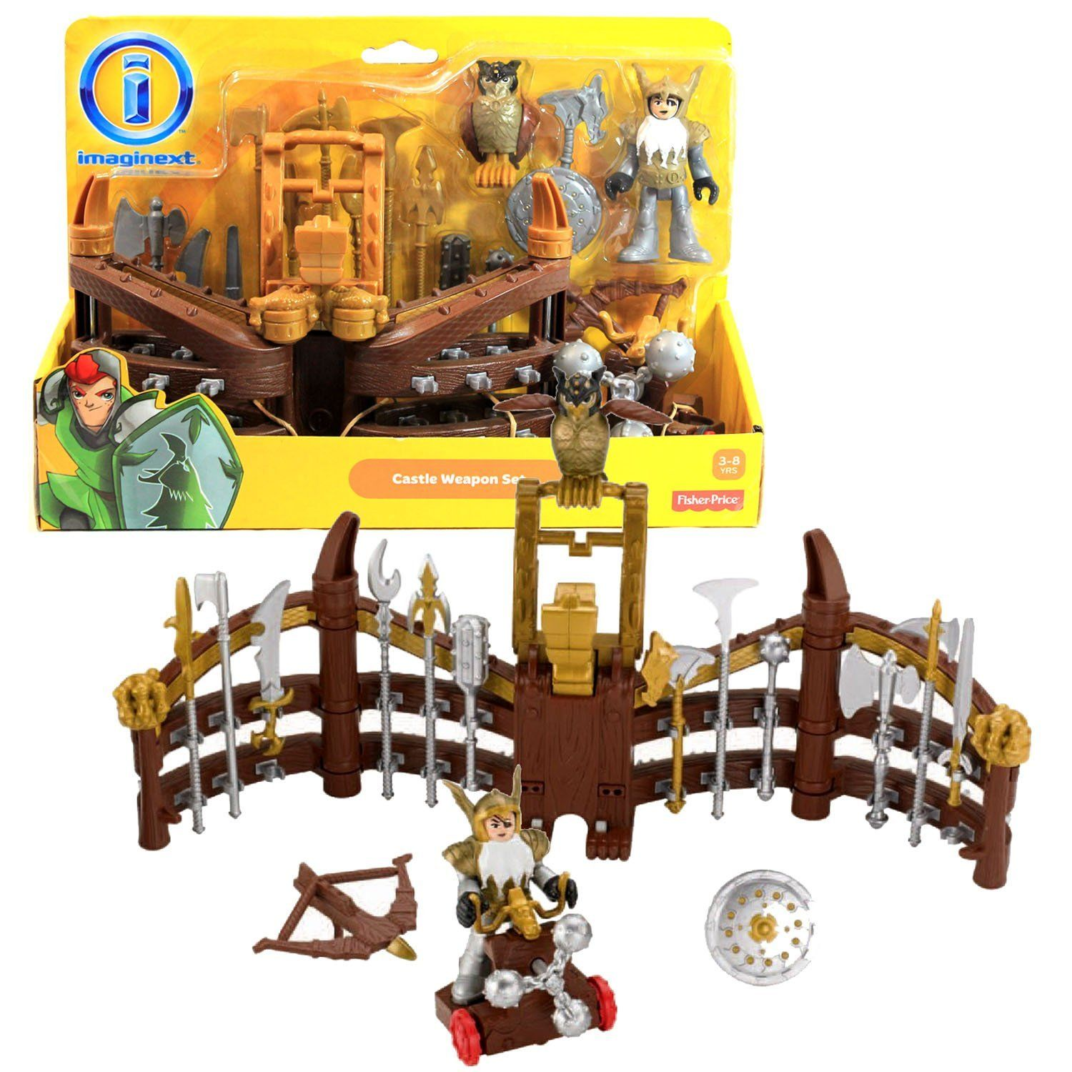 Fisher-Price Imaginext Castle Knights Weapon Spinning Gauntlet