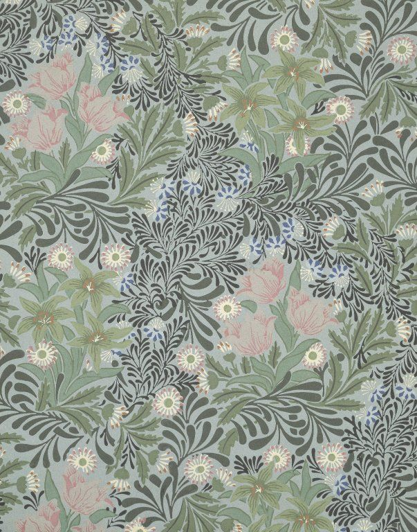 Bower by William Morris. Brooklyn Museum Decorative Arts