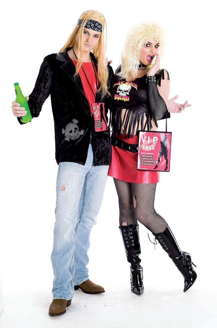 80s rock costume - 80s Rocker Halloween Costume