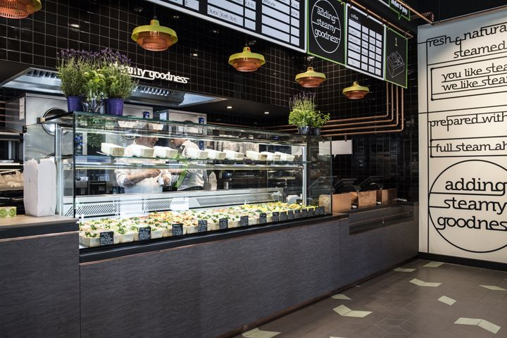 Thats Vapore Restaurant By Caulder Moore London UK Has Exposed Copper Pipework
