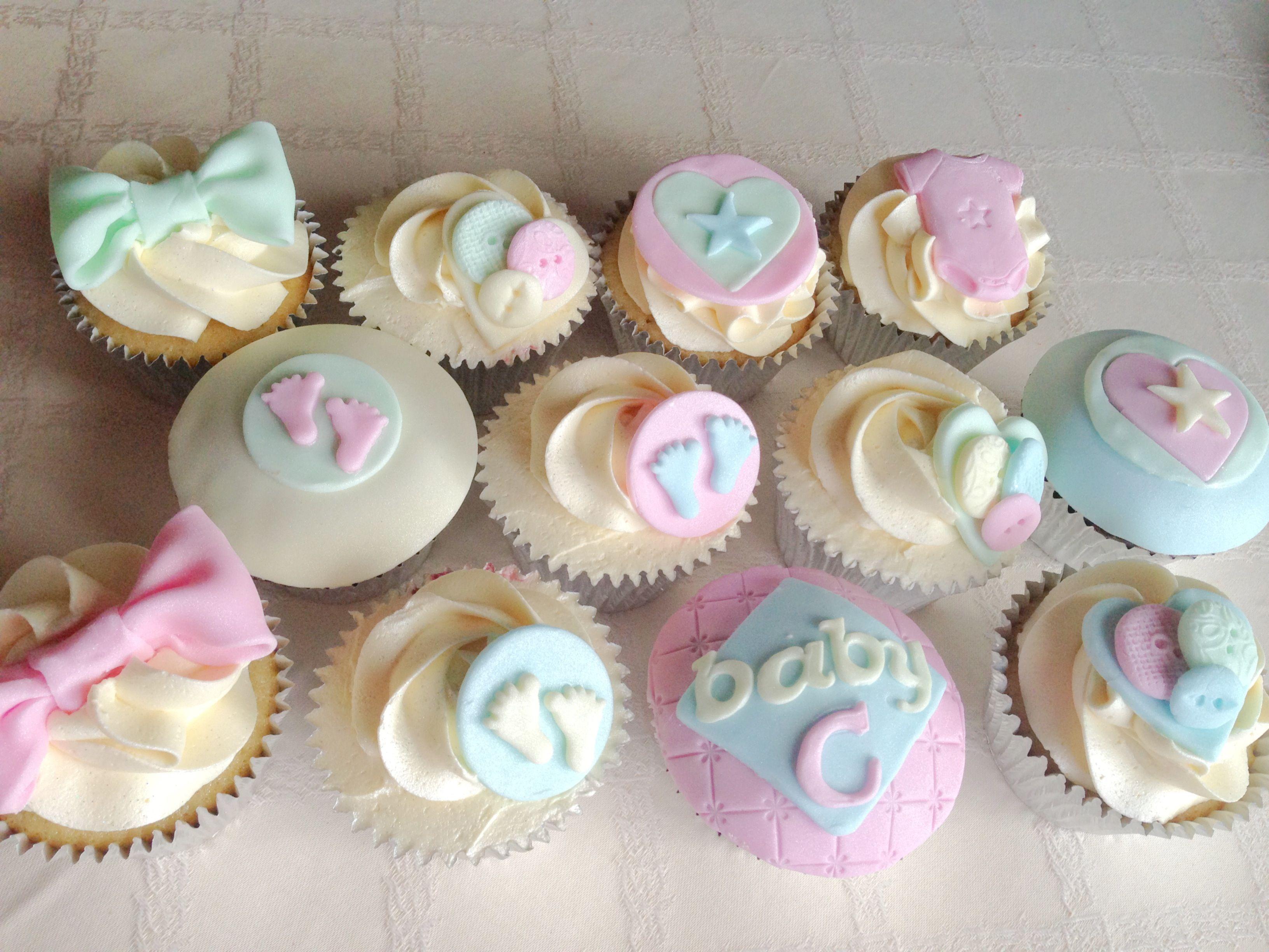 Unisex Baby Shower Cupcakes Unisex Baby Shower Baby Shower Cupcakes Baby Shower Food