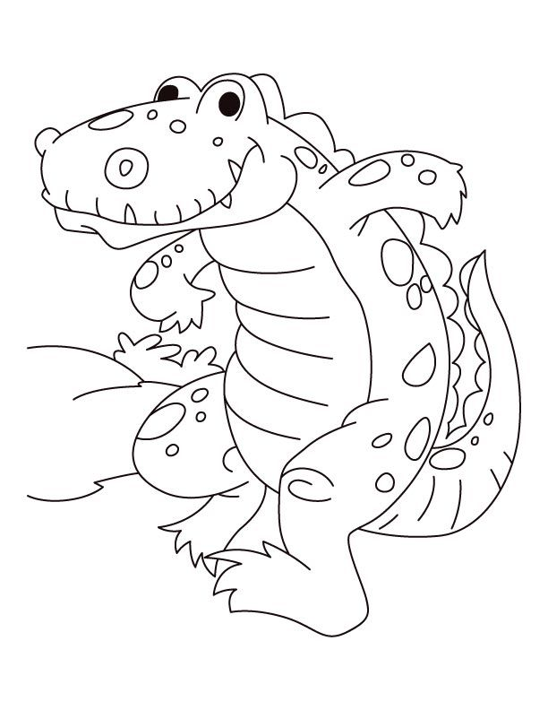 Skipper alligator coloring pages Download Free Skipper alligator - new alligator coloring pages to print