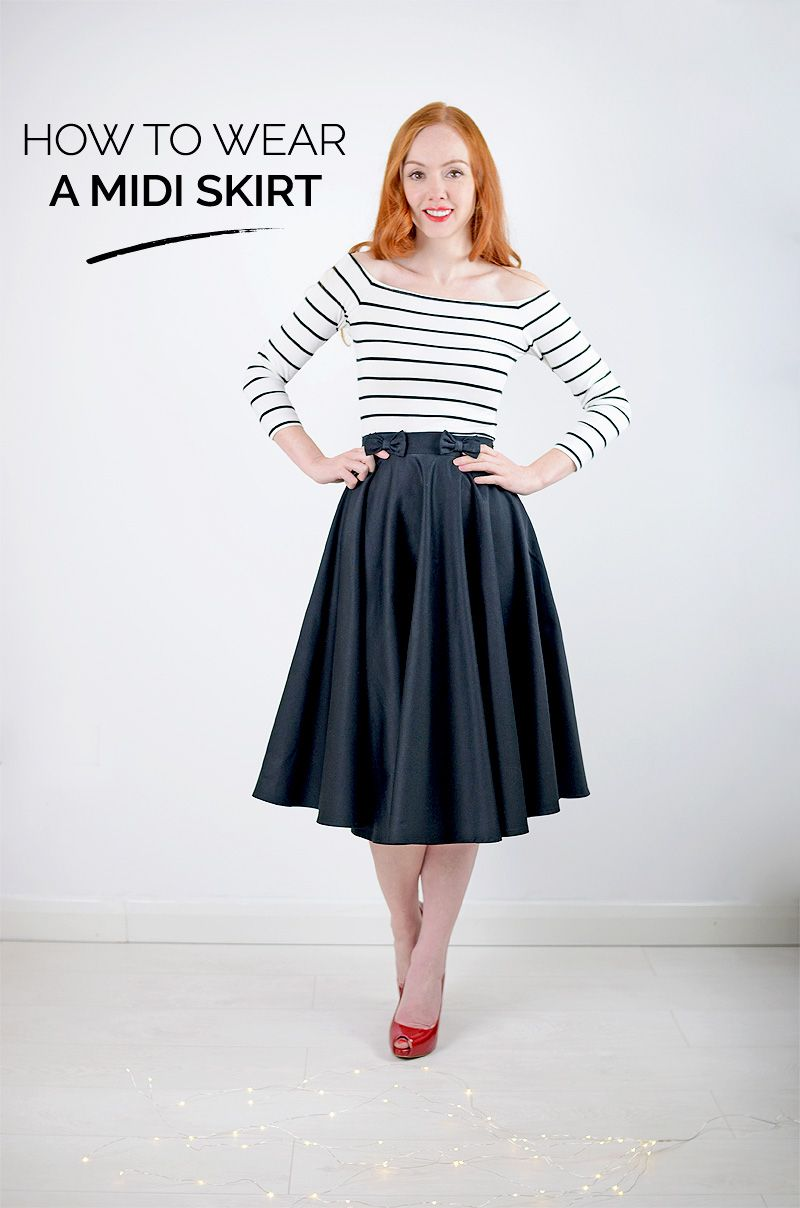 How to midi wear skirt with boots photos