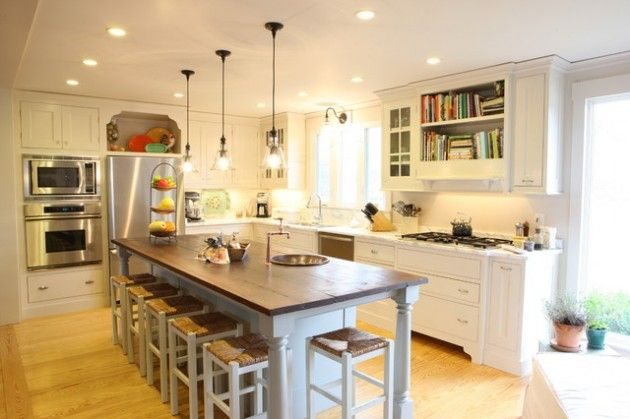 Eclectic Kitchen Design Ideas For Harmonious Home Eclectic Kitchen Design Narrow Kitchen Island Eclectic Kitchen