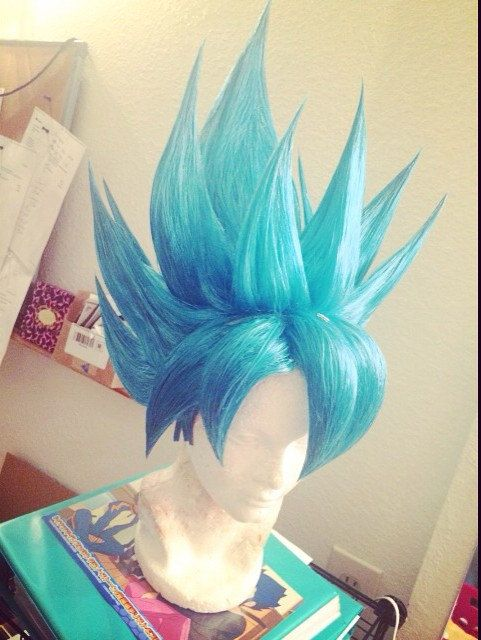 Goku Wig. Goku Blue · Super Saiyan · Son Goku · Dragon Ball Z · Hey 8ca5b050fb1a