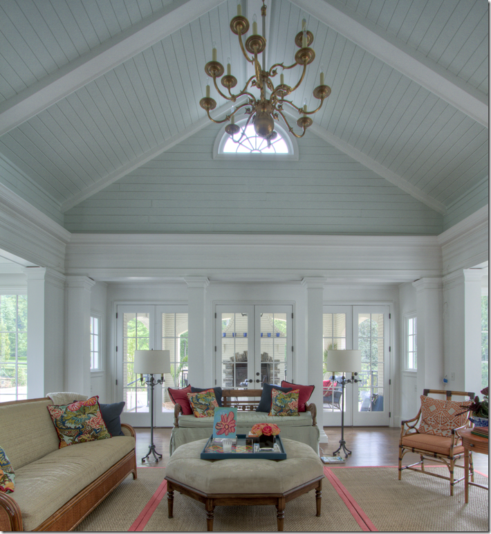 Inexpensive Plank Ceiling White: One Of The Most Beautiful Houses I've Ever Seen; Click