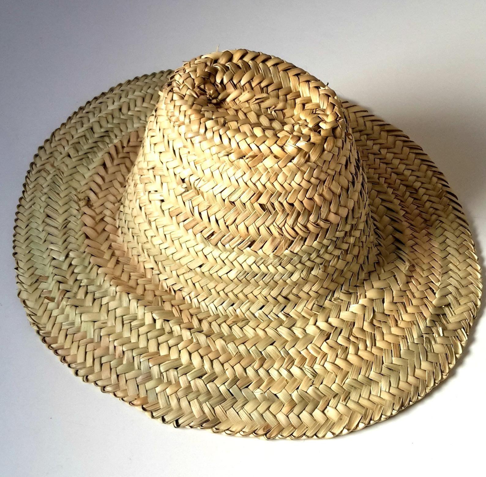 Moroccan Straw Hats Palm Leaf Garden Hat Wicker Etsy Gardening Hat Leaf Hat Hats