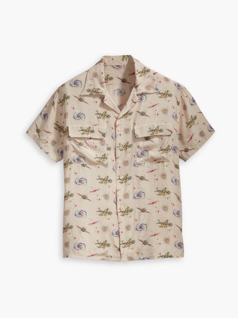 06edb94e Levis Vintage 1940's Hawaiian Shirt Universe // Beige | Products ...