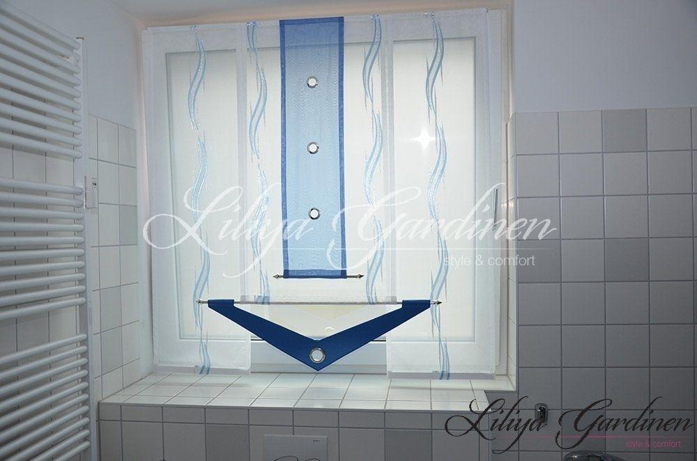 Badezimmer Gardinen nach Maß bestellen ✓ Wir nähen individuelle ...