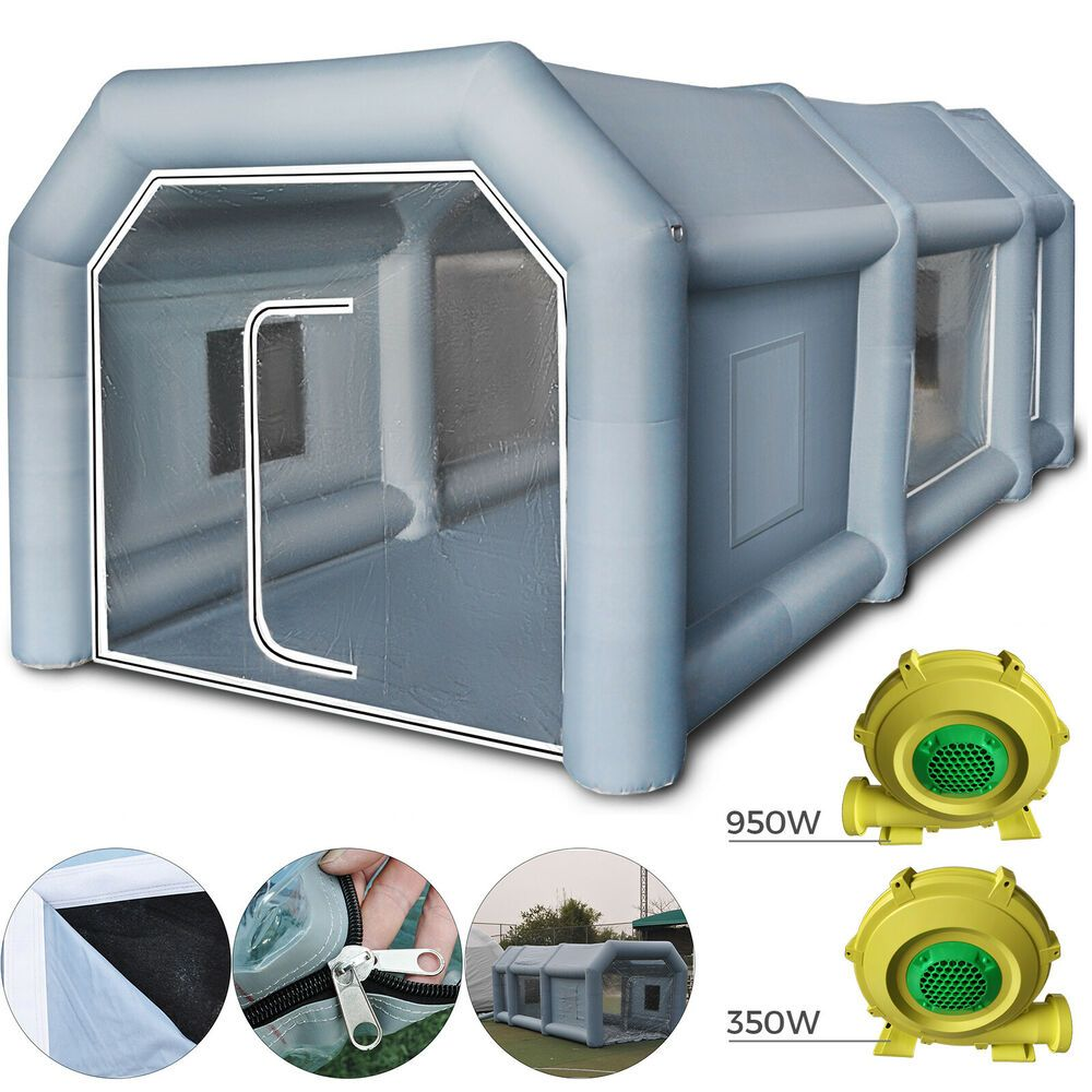 Ebay Advertisement Inflatable Spray Booth Paint Tent Car Paint