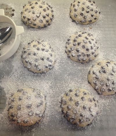 Bake Like An Italian Grandmother: Italian Cookies With Chocolate Chips - Foodie Goes Healthy Recipe Blog -   15 desserts Italian chocolate chips ideas