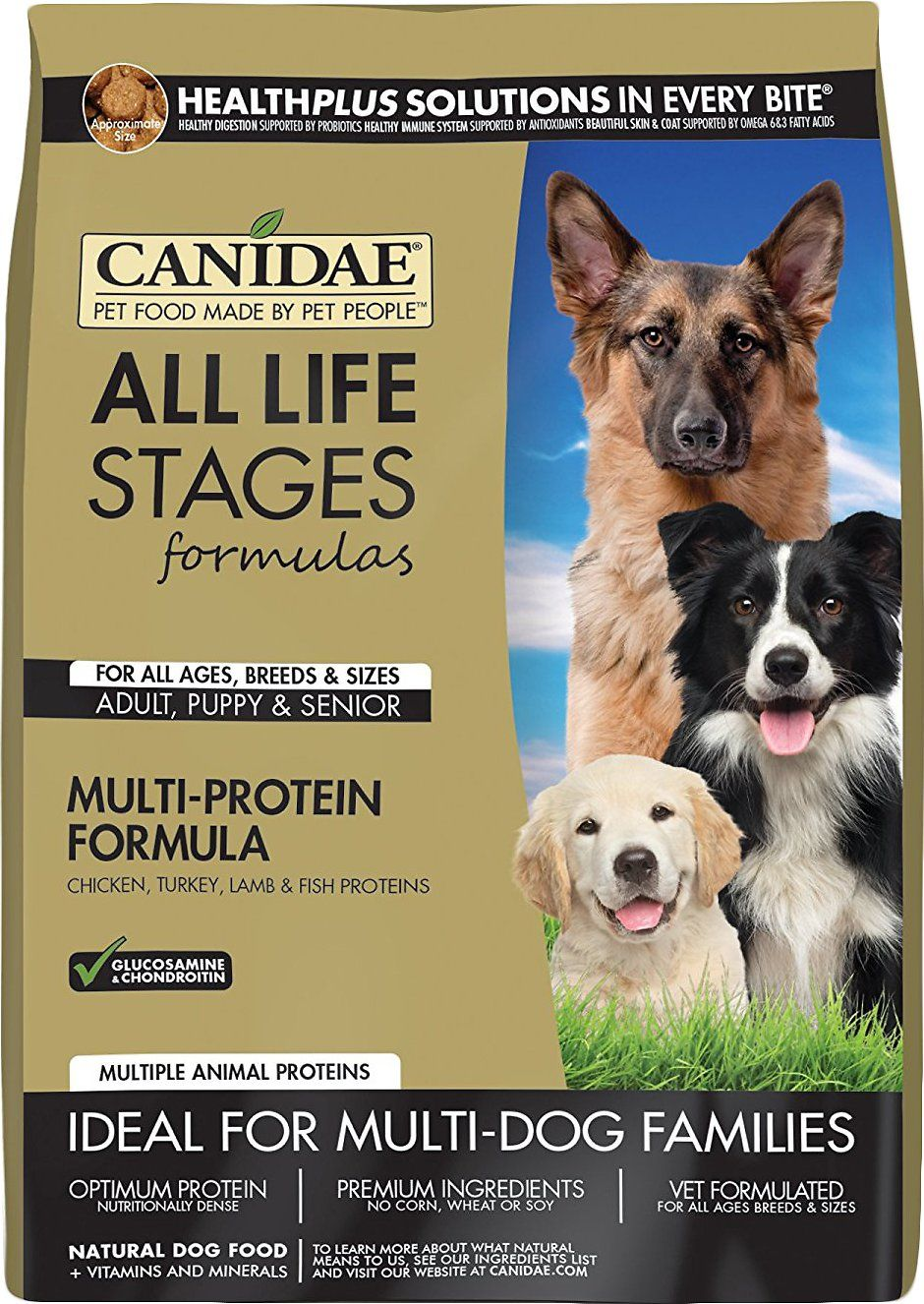 Canidae Dog Food Reviews >> Canidae All Life Stages Multi Protein Formula Dry Dog Food