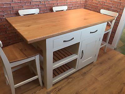 Cool Handmade Kitchen Island Solid Oak Top Breakfast Bar Lamtechconsult Wood Chair Design Ideas Lamtechconsultcom