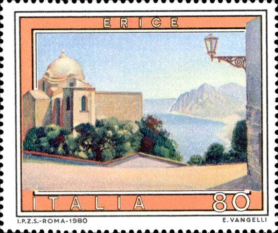 Francobolli Italiani: 1980Dettaglio Francobollo