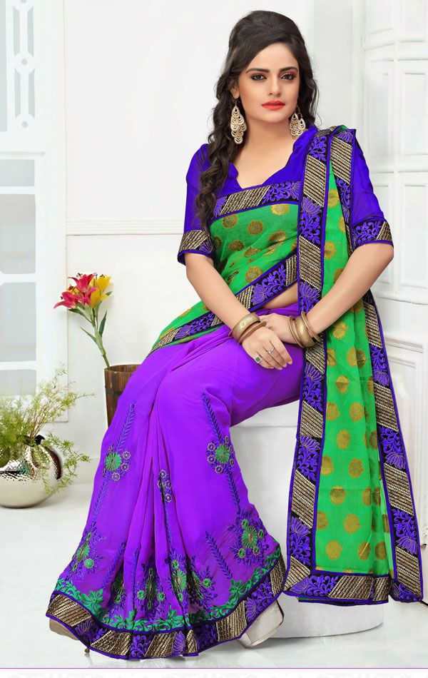 I think it would be cool to have this color combo for the bengali saree.