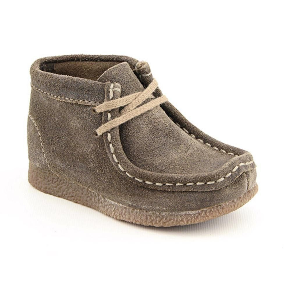 Clarks Toddler Wallabee Ankle Boot. Dying.