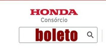 Consorcio Nacional Honda Boleto Consorcio Honda E Boleto