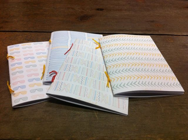 blank books DIY | At West End Blog