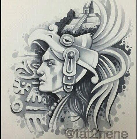 45ddf6ddd Prison Arte Aztec Art, Aztec Tribal Tattoos, Aztec Warrior Tattoo, Aztec  Drawing,