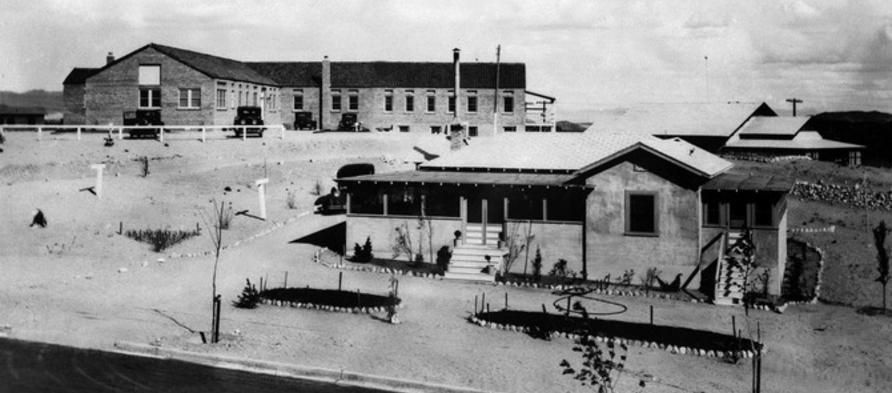 Historical Photo Of Six Companies Hospital As Constructed In 1931 Historical Photos Boulder City Photo