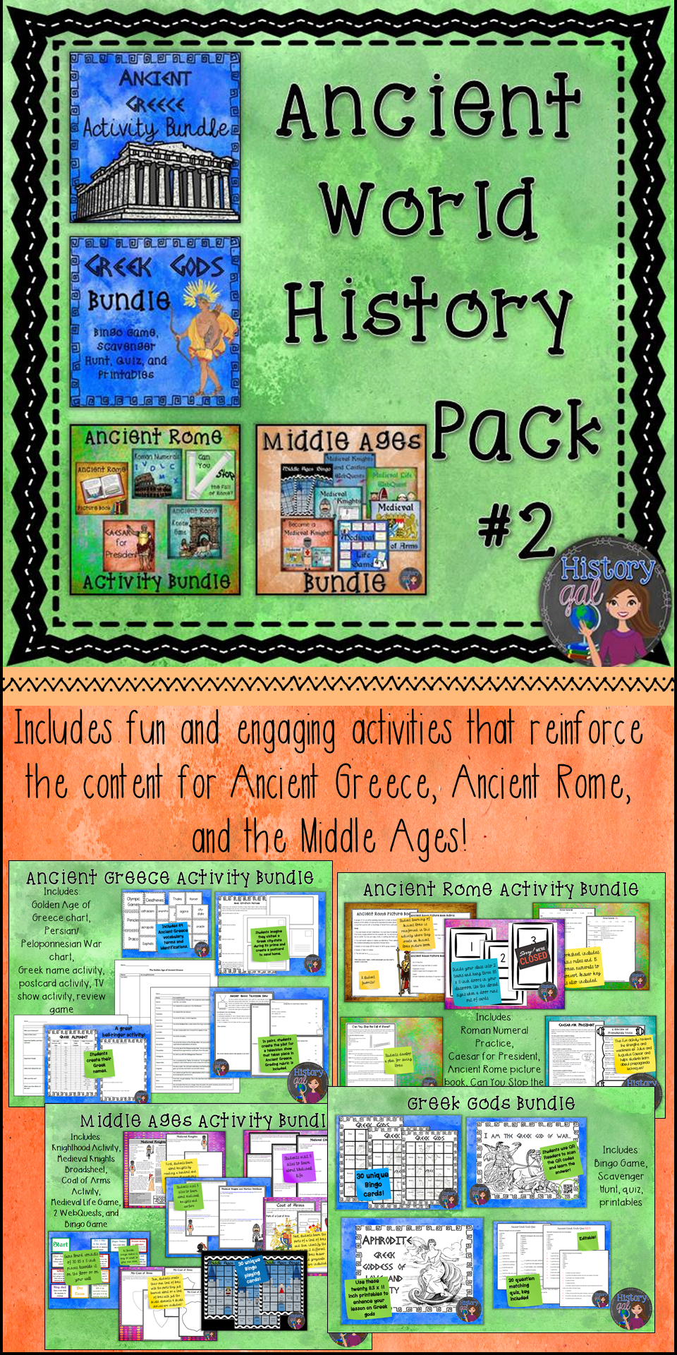 This Money Saving Bundle From History Gal Includes Ancient Greece