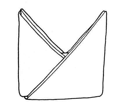 doblado de servilletas mitra