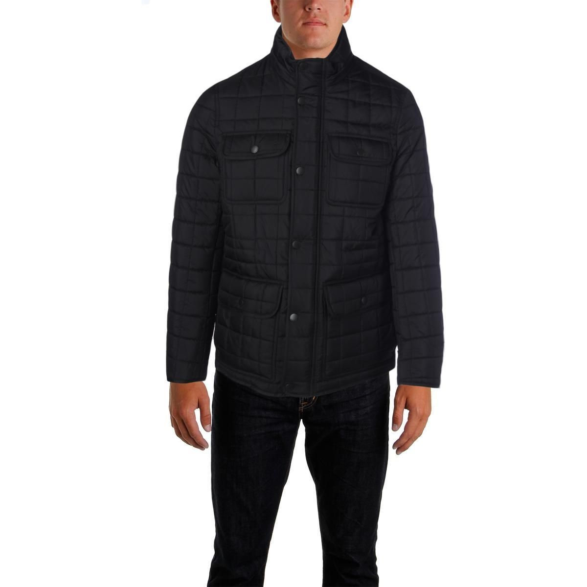 Mens quilted military puffer jacket mens quilts tommy hilfiger