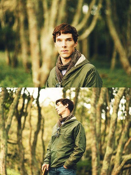 Benedict Cumberbatch, promo pic from 'Third Star'.