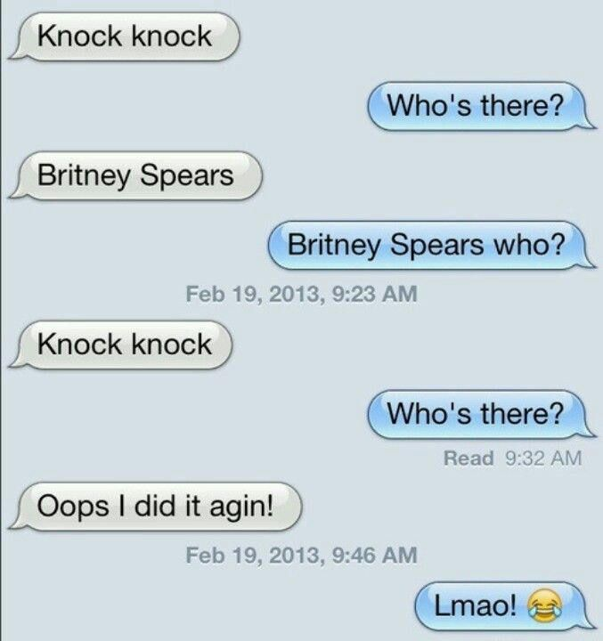 Time for some good old *knock knock* jokes