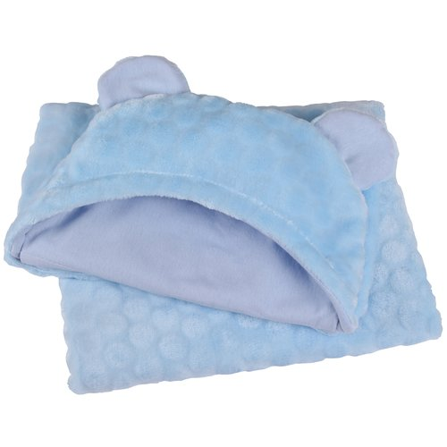 Grey Clair de Lune Elephant Hooded Baby Blanket