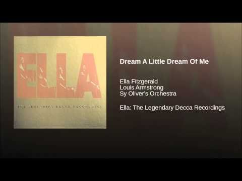 Dream A Little Dream Of Me - YouTube