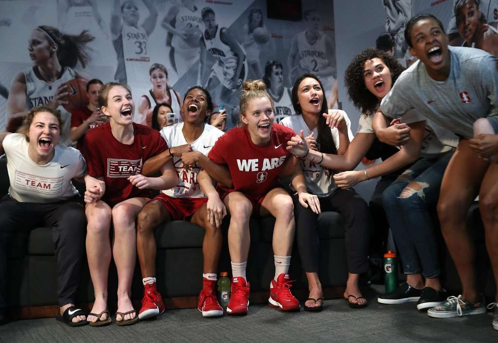 Stanford Women Get A 2 Seed Will Play New Mexico State In Kansas Stanford Womens Basketball Basketball Teams