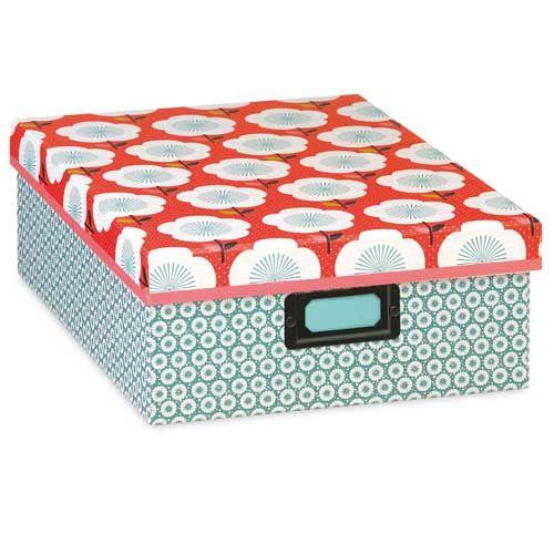 Boite De Rangement Papier Toile Mr Mrs Clynk Decoclico Boite De Rangement Carton Boite De Rangement Rangement Papier