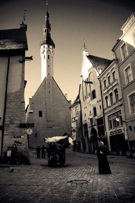 Tallinn, Estonia. Take a pleasant and peaceful walk through the capital of Estonia with the help of theculturetrip.com