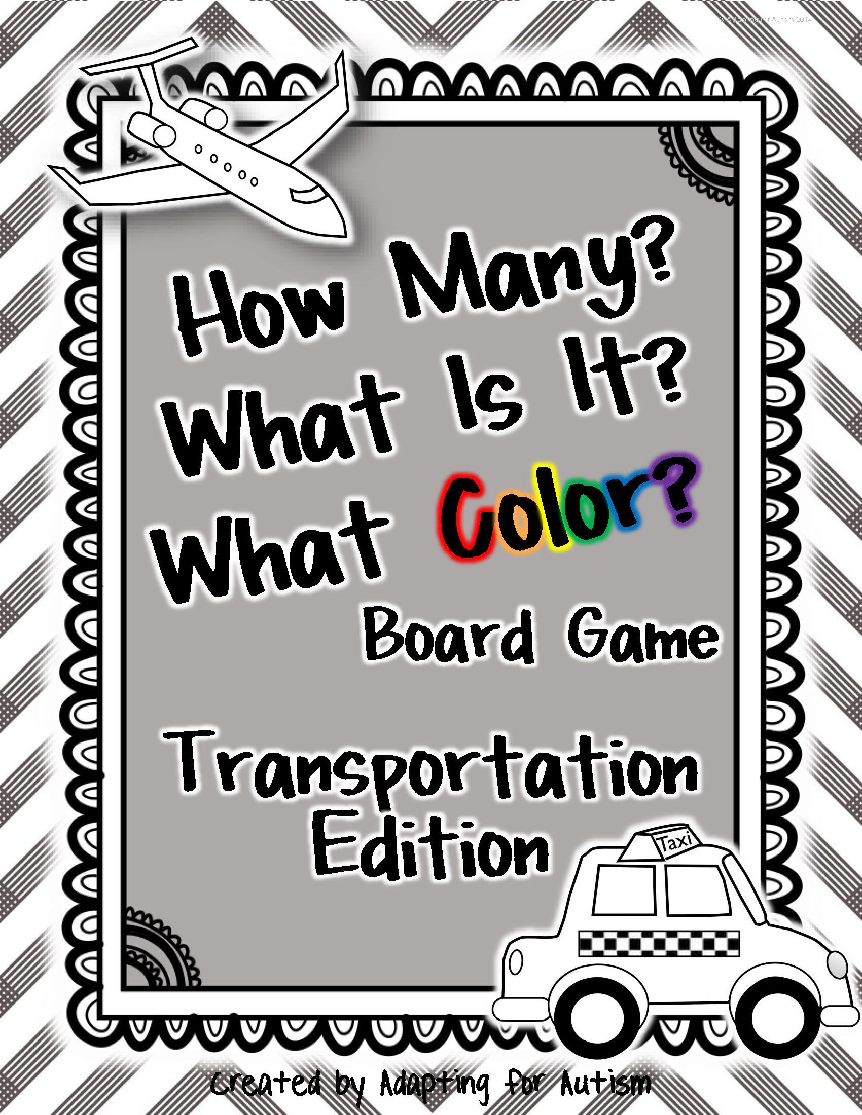 This Engaging Transportation Themed Board Game Targets