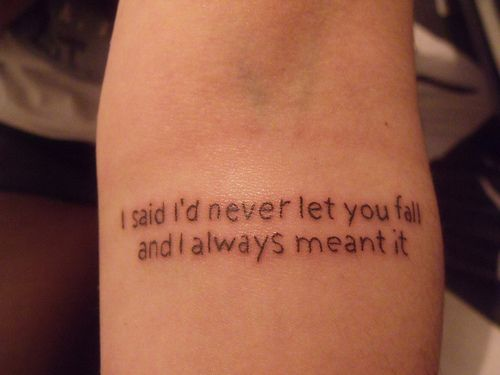 A Day To Remember Lyric Tattoos - Google Search