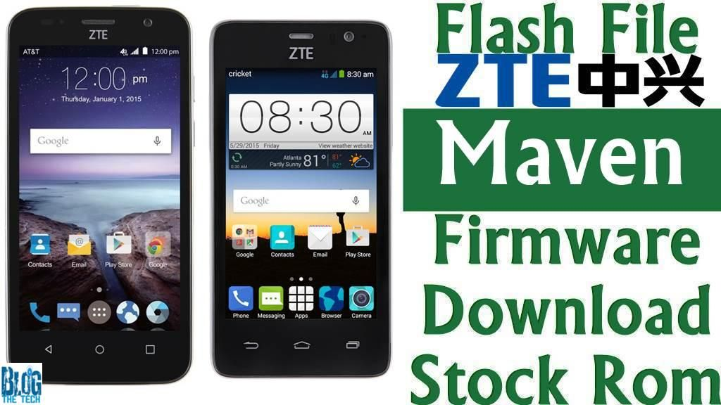 Flash File] ZTE Maven Z812 Firmware Download [Stock Rom