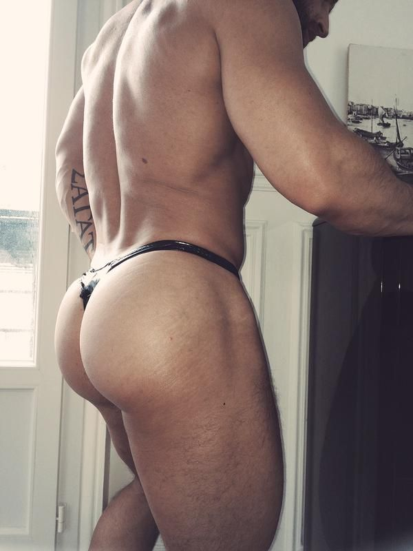 gay guys thongs asses