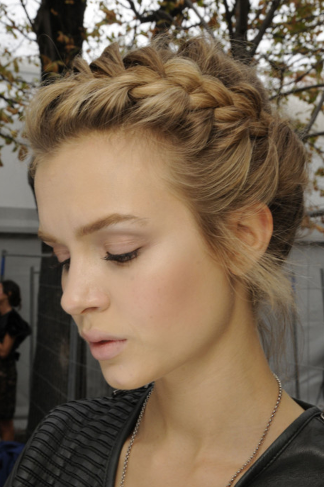 All Tied Up Hairdo For Long Hair Hair Styles Braided Hairstyles