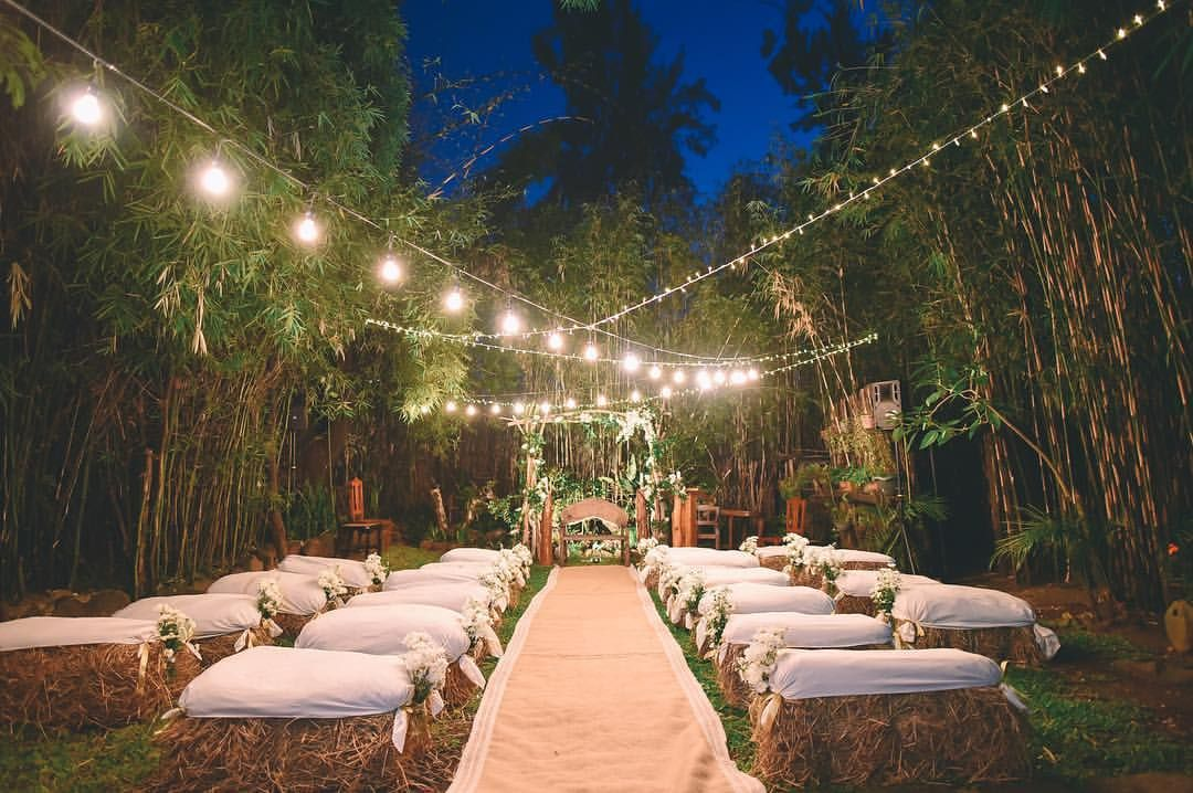Intimate Garden Setup For A Baguio Wedding Styled By