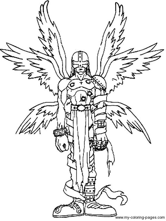 Digimon Coloring Page | Coloring Pages of Epicness | Pinterest ...