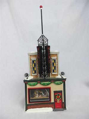 christmas village radio station