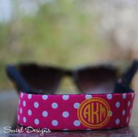 Sunglasses Wrap - Polka Dot Print